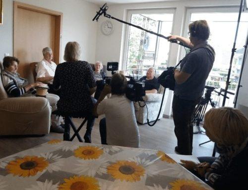 TV-Sender SWR besucht Pflegedienst